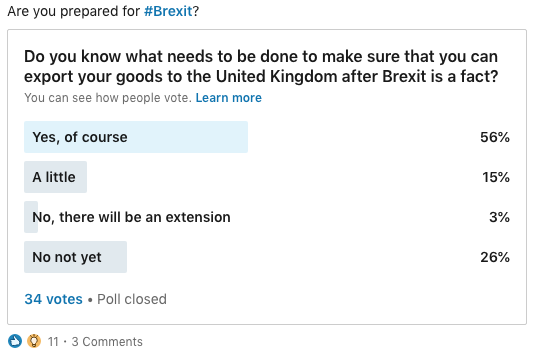Poll: Are you prepared for Brexit?