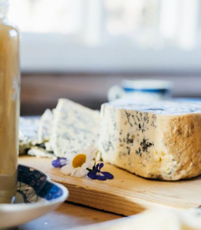 Norwegian blue cheese, honey and hygge